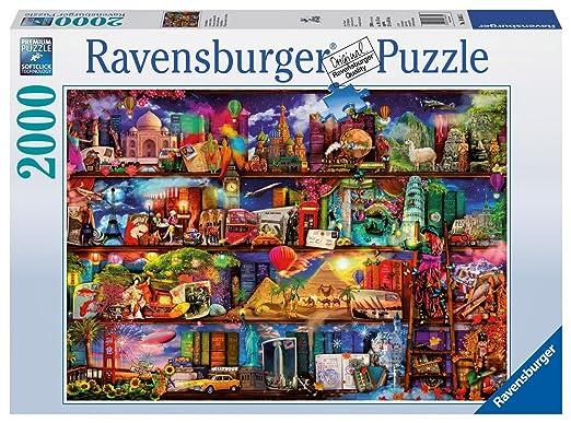 22 opinioni per Ravensburger Italy 16685- Puzzle 2000 Pezzi Il Mondo dei Libri