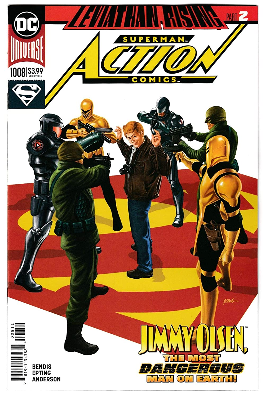 Action Comics #1008 Main Cvr (DC, 2019) NM