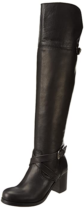 Amazon.com: FRYE Women's Kelly Over The Knee Motorcycle Boot ...