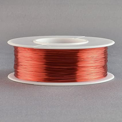 Buy essex magnet wire 28 gauge awg enameled copper 500 feet coil essex magnet wire 28 gauge awg enameled copper 500 feet coil winding crafts 4oz red greentooth Choice Image