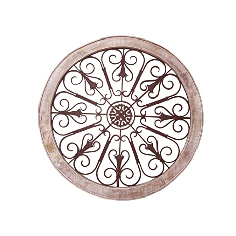 Amazon.com: Benzara UPT-187976 - Decoración de pared (metal ...