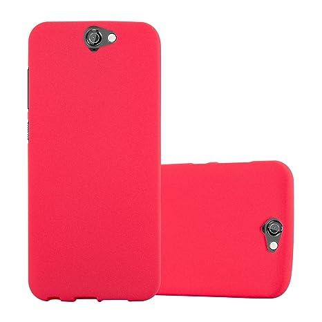 Cadorabo Funda para HTC One A9 en Frost Rojo: Amazon.es ...