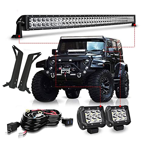 TURBO SII For 1997-2006 Jeep Wrangler TJ 50Inch Led Light Bar Offroad on jeep tj stuff, jeep cj, jeep wagoneer, jeep tj manual transmission, jeep xj, jeep tj vehicle, custom jeep tj, red jeep tj, jeep patriot, jeep yj, jeep commander, jeep comanche, 1996 jeep tj, jeep tj interior, built jeep tj, jeep liberty, jeep cherokee, jeep scrambler, jeep tj se, jeep tj radiator,
