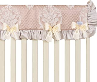 product image for Glenna Jean Angelica Convertible Crib Rail Protecto, Pink, Long, one Size