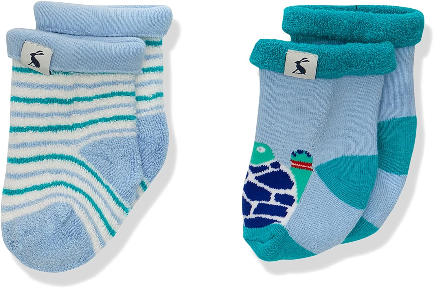 Joules Baby Boys Terry Socks Pack of 2