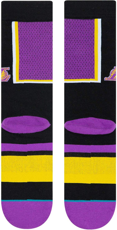 Hombre Stance Lakers Shortcut Calcetines