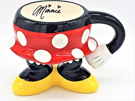 Minnie Parts Mug Disney Theme Exclusive Body Ceramic Coffee Parks Pants Mouse Rjq54ALc3
