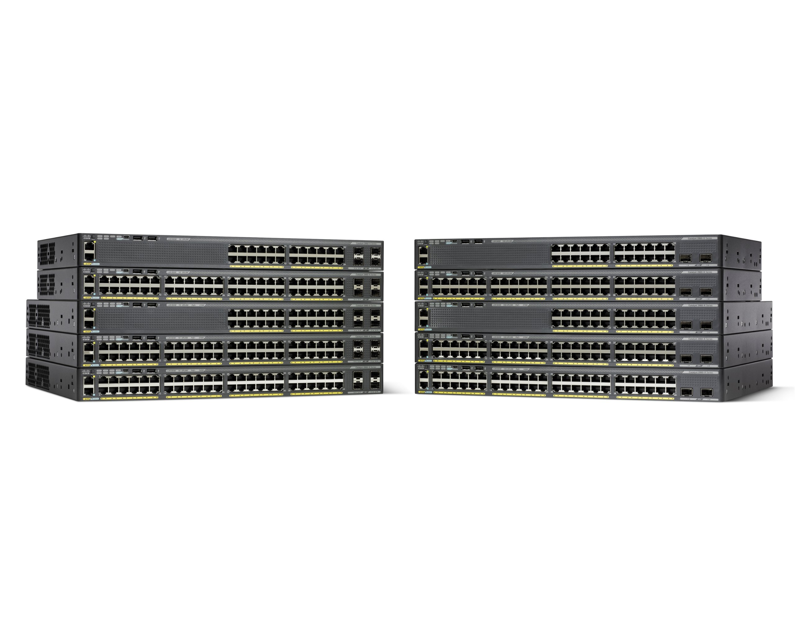 Cisco Catalyst WS-C2960X-24PS-L 24 Port Ethernet Switch with 370 Watt PoE by Cisco