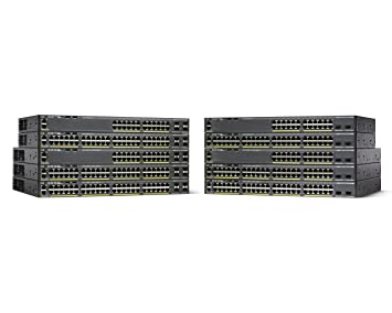 Cisco Catalyst WS-C2960X-24PS-L 24 Port Ethernet Switch with 370 Watt PoE