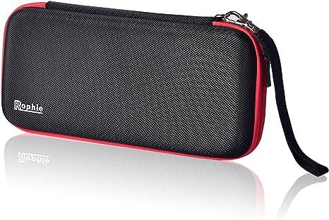 Nintendo Switch Caja, Rophie Bolsa de Almacenamiento Protectora para Nintendo Switch: Amazon.es: Videojuegos