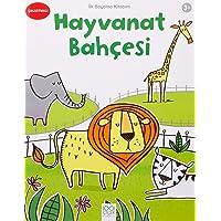 İlk Boyama Kitabım - Hayvanat Bahçesi: Çıkartmalı