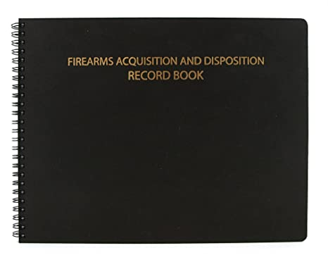 Amazoncom BookFactory Gun Log Book Firearms Acquisition - Open office invoice template free cheapest online gun store
