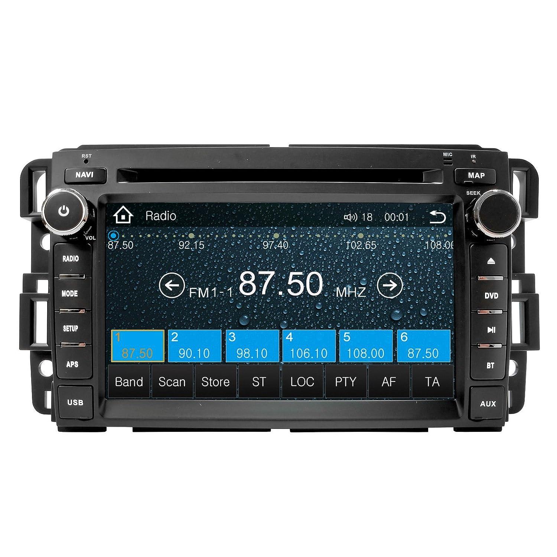 Gmc Sierra 2007 2013 K Series In Dash Bluetooth Am Fm 2002 Envoy Slt Instrument Panel Center Fuse Box Diagram Radio Gps Navigation Touchscreen Dvd Mp3 Mp4 Multimedia System His Unit Will Fit