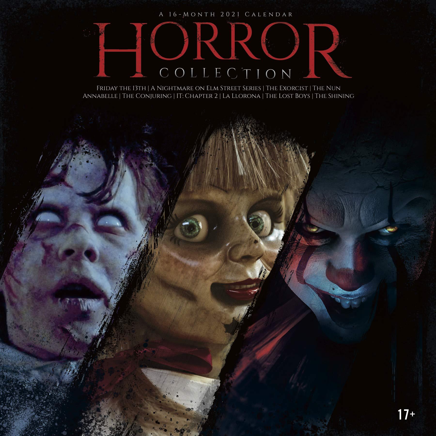 2021 Horror Collection Wall Calendar: Trends International