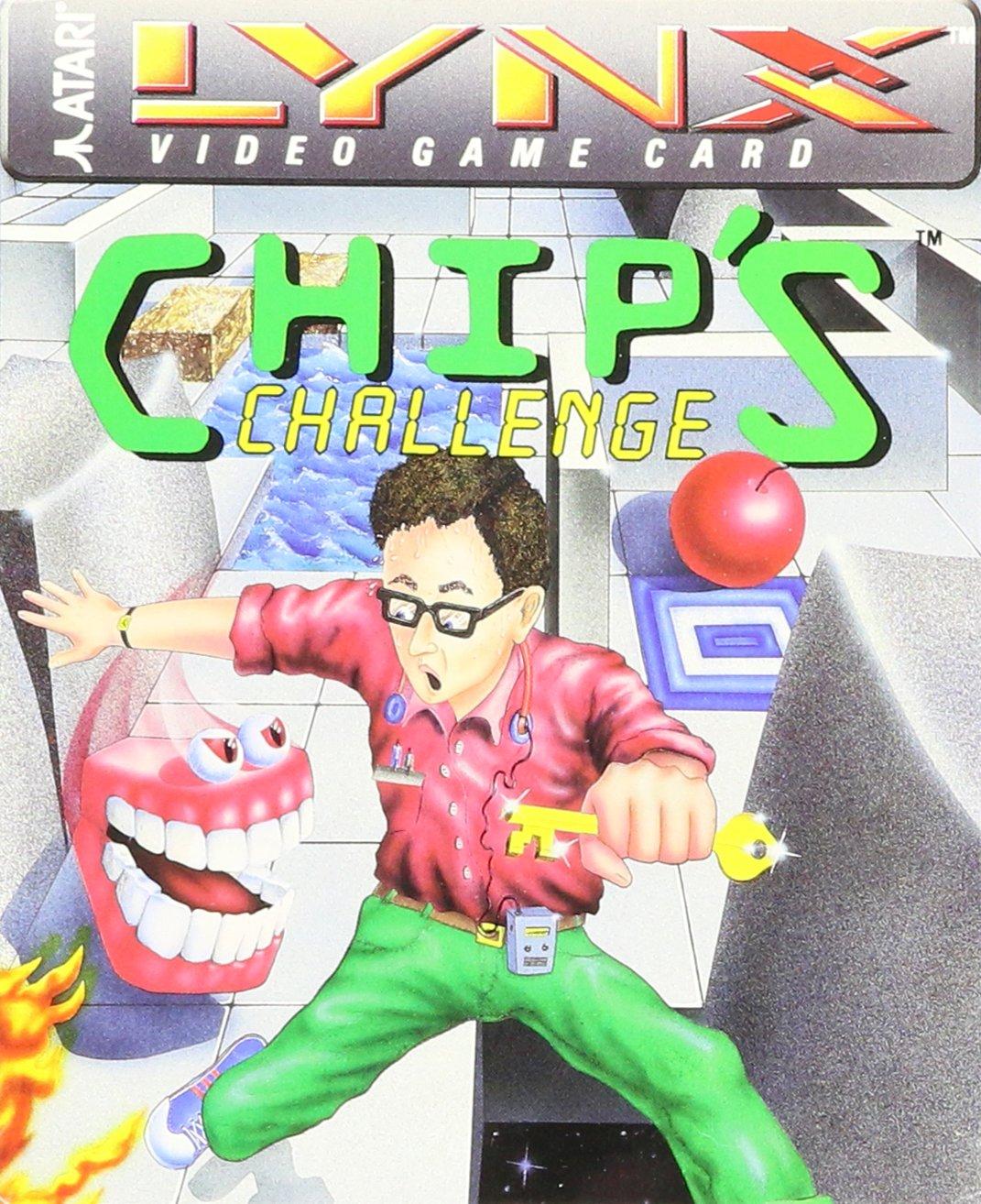 Chip's Challenge by Atari (Image #1)