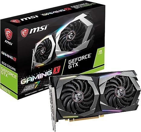 No SLI Gaming App PCI-E x16 MSI GeForce GTX 1050 Ti GAMING X 4G Graphics Card