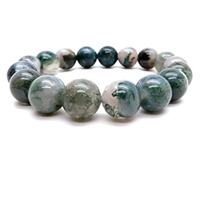 bracelet faceted moss jewelry products lovepray charm bracelets large om agate with fine abundance