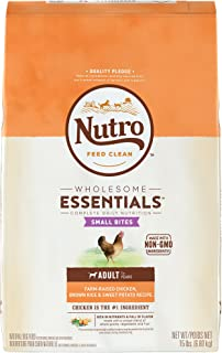 product image for Nutro Wholesome Essentials Natural Adult & Senior Small Bites Dry Dog Food
