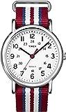 [タイメックス]TIMEX ウィークエンダー セントラルパーク ホワイト×レッド/ブルー/ホワイト T2N746 【正規輸入品】