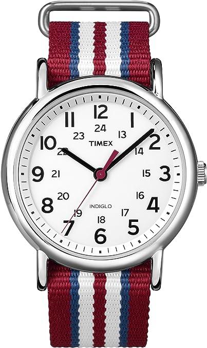 103 opinioni per Timex Orologio da Polso al Quarzo, Analogico, Uomo, Tessuto