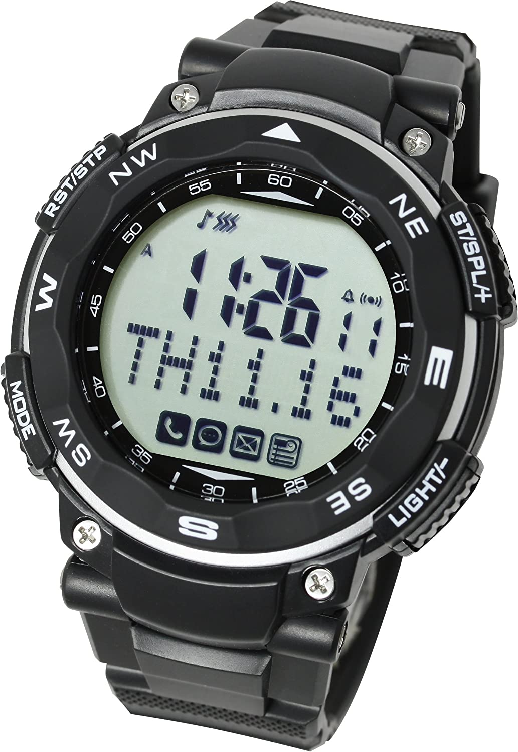 Lad-Weather Smartwatch Calorie-Counters Pedometer Sleeping-Monitor