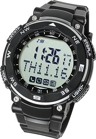 Lad Weather Reloj inteligente para iPhone y Android/Avisos de teléfono móvil llamada correo electrónico mensaje evento/podómetro/teléfono ...