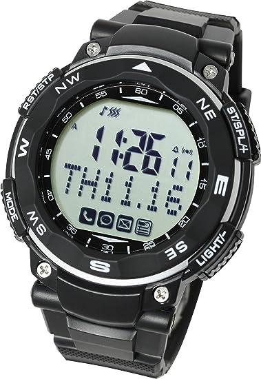 [Lad Weather] Reloj inteligente para iPhone y Android/Avisos de teléfono móvil llamada