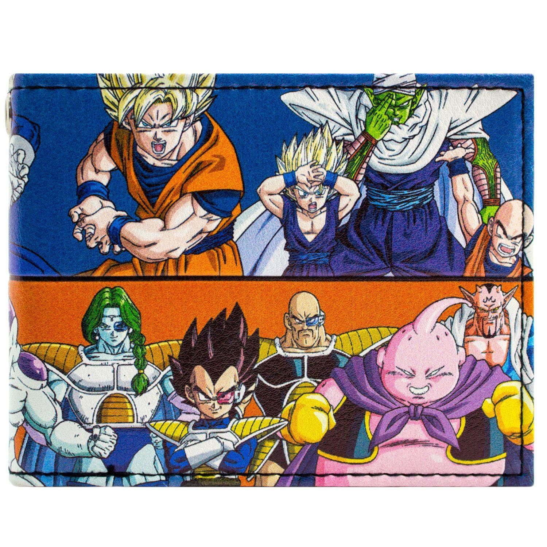 Toei Dragonball Z Good & Evil Characters Blue ID & Card Bi-Fold