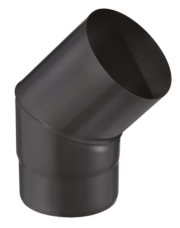 ISOTIP-JONCOUX 950023 Coude 90/° Email 0.7 Noir Diam/ètre 150