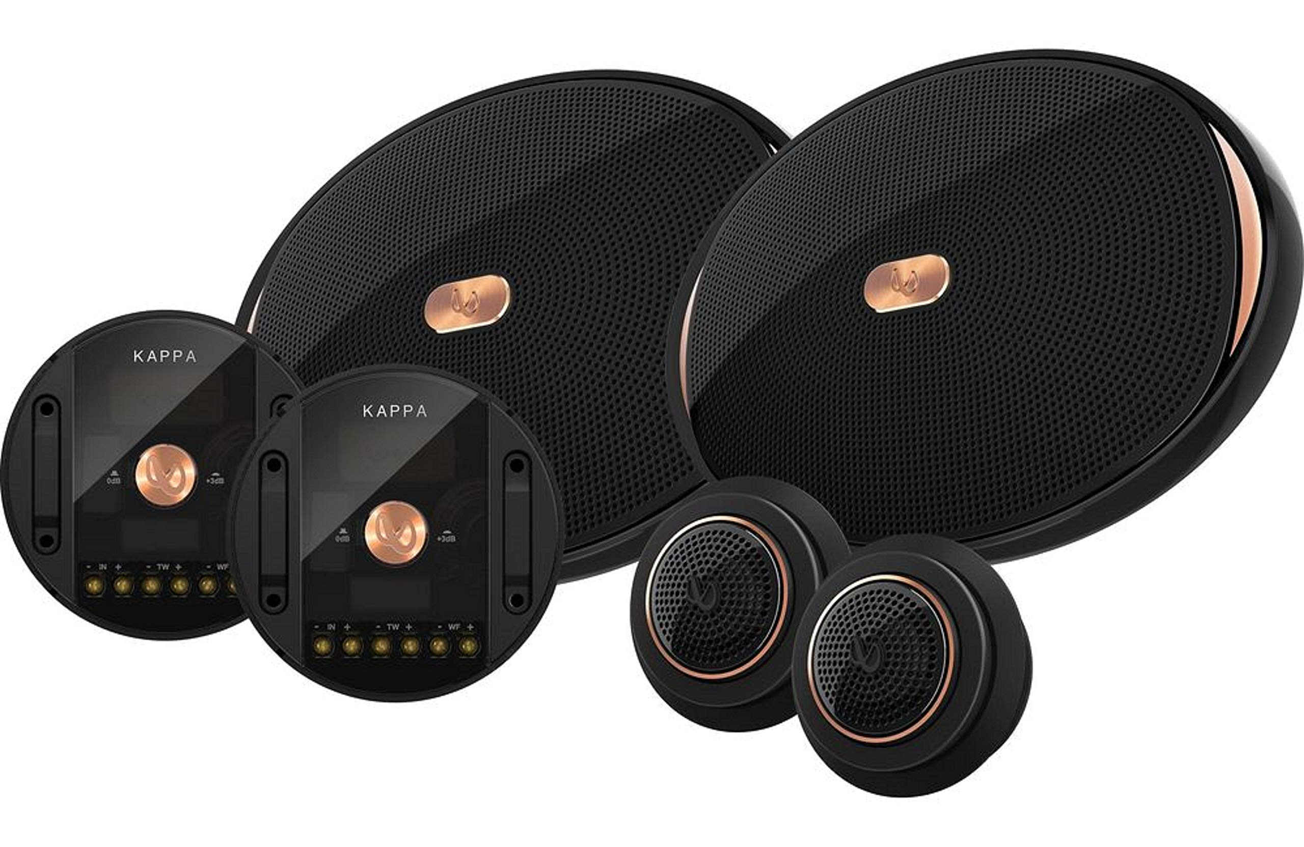 """Infinity KAPPA-90CSX 6"""" x 9"""" Two-Way Car Audio Component System w/Gap Switchable Crossover"""