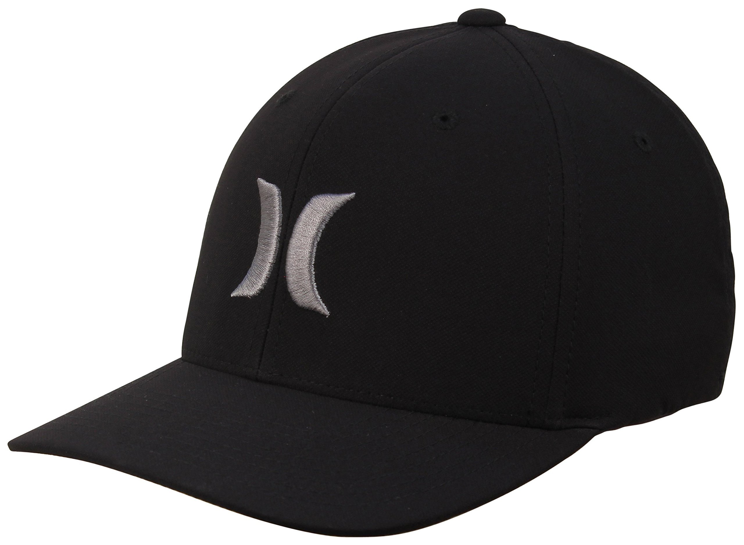 Hurley Dri-Fit One and Only Hat - Black/Cool Grey - S/M