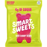SmartSweets Gummy Bears Sour 1.8 Ounce, Candy With Low-Sugar (3g) & Low Calorie (90)- Free of Sugar Alcohols & No…