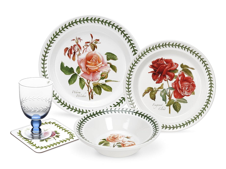 Amazon.com | Portmeirion Botanic Roses 22-Piece Dinnerware Set  Dinnerware Sets  sc 1 st  Amazon.com & Amazon.com | Portmeirion Botanic Roses 22-Piece Dinnerware Set ...