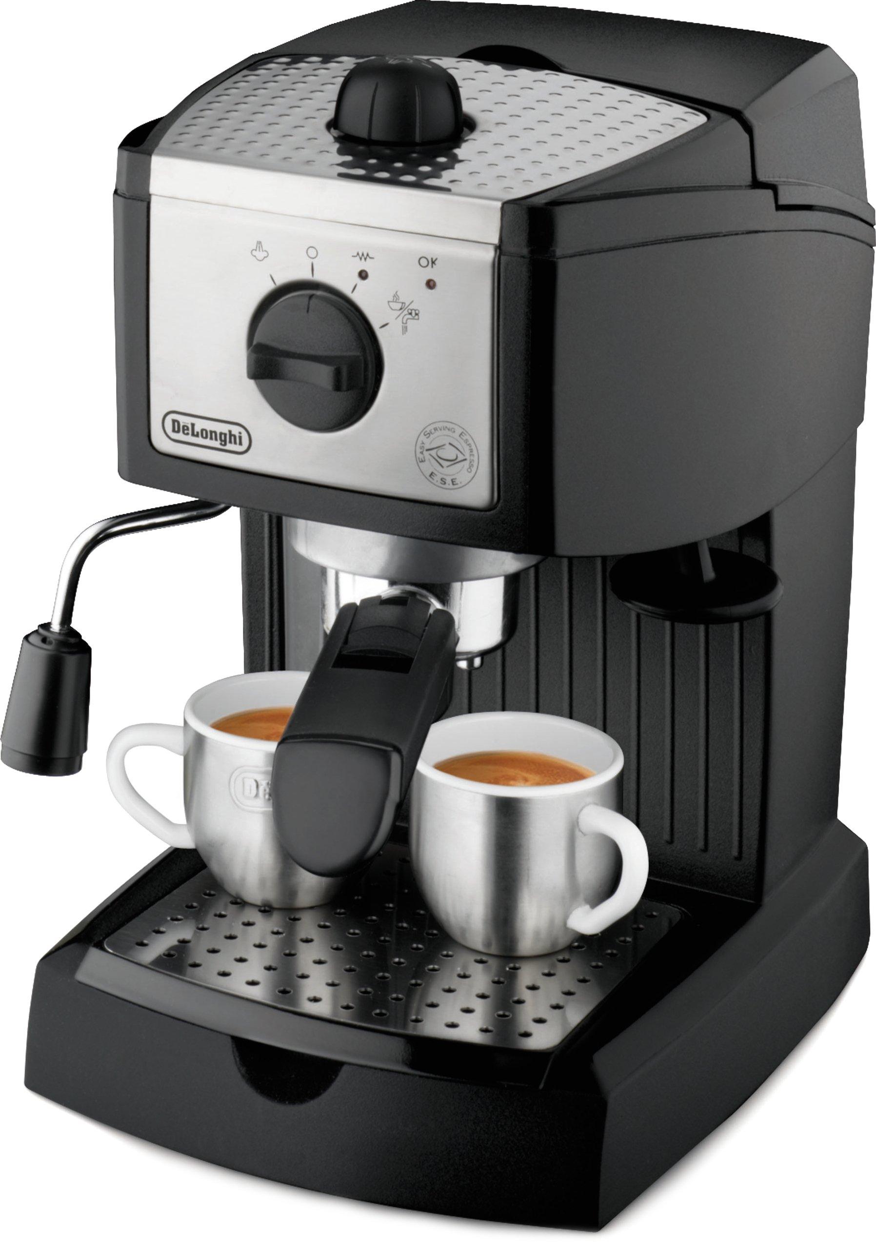 De'Longhi EC155 15 BAR Pump Espresso and Cappuccino Maker by DeLonghi