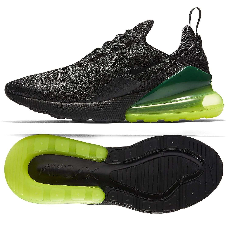 new style 8b581 9fc67 Amazon.com   Nike Air Max 270 AH8050-011 Black Volt Men s Running Shoes    Road Running