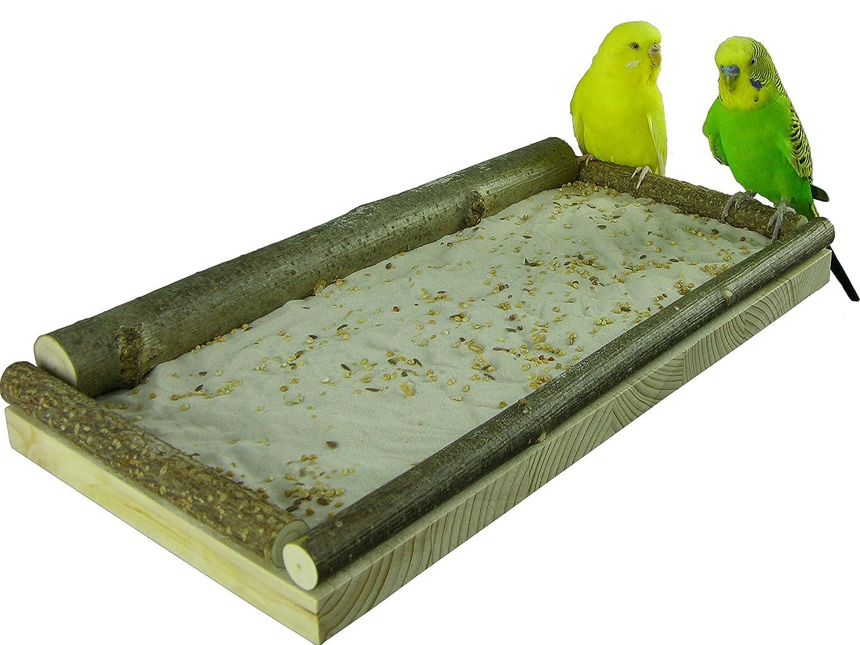 "Sitzbrett ""Groß"" für Vögel"