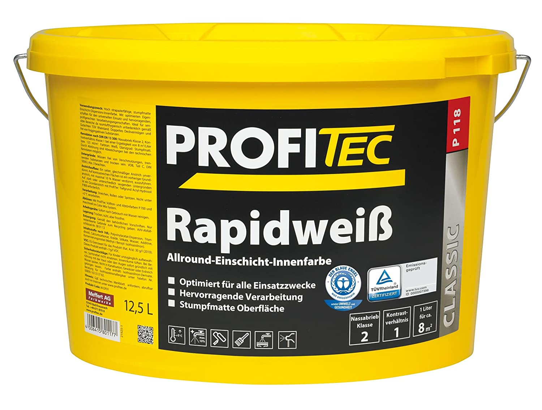 ProfiTec P118 Rapidweiß (5 Liter) Meffert AG