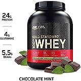 Optimum Nutrition Gold Standard 100% Whey Protein Powder, Chocolate Mint, 5 Pound