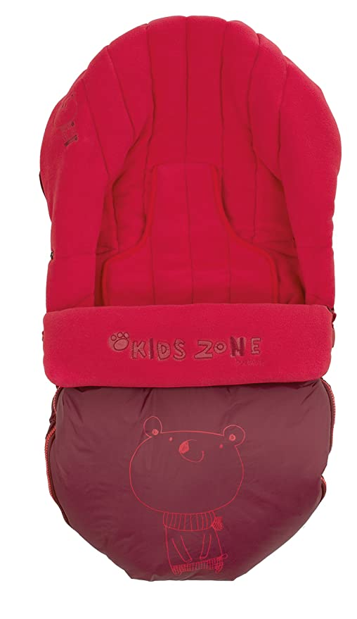 Jané - Saco de abrigo para sillas y carritos, color rojo (080474 R83 ...