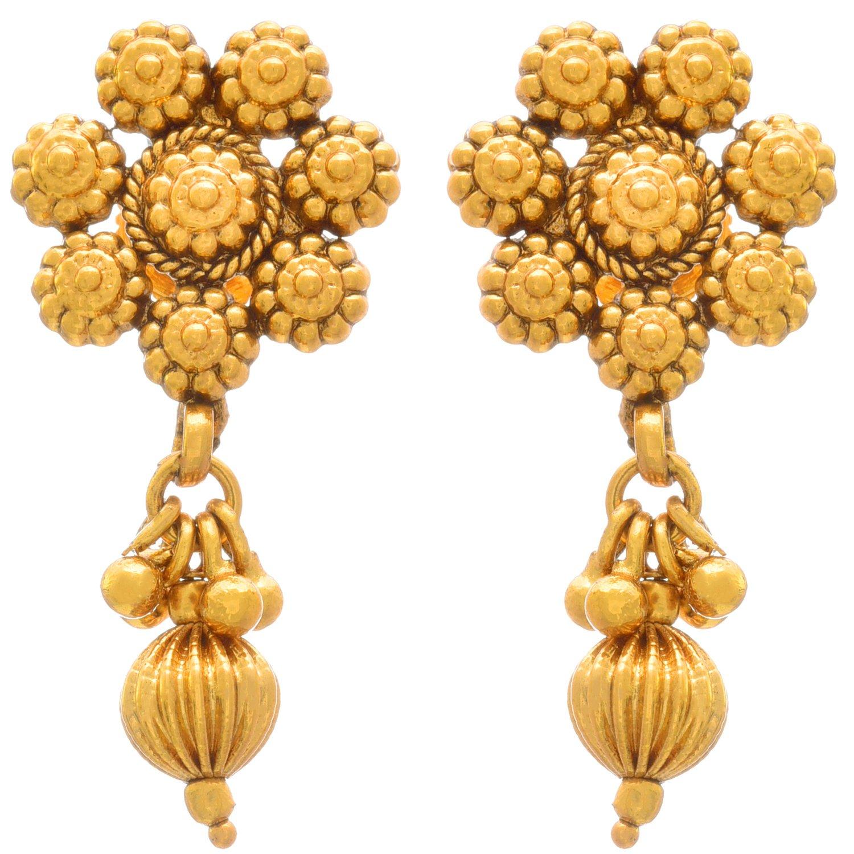 Buy Jfl Jewellery For Less Traditional Ethnic e Gram Gold