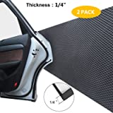 GUEQUITLEX Car Door Protector Bump Body Guard,1/4' Sectional Foam Sticking Garage Wall Parking Protector Collision…