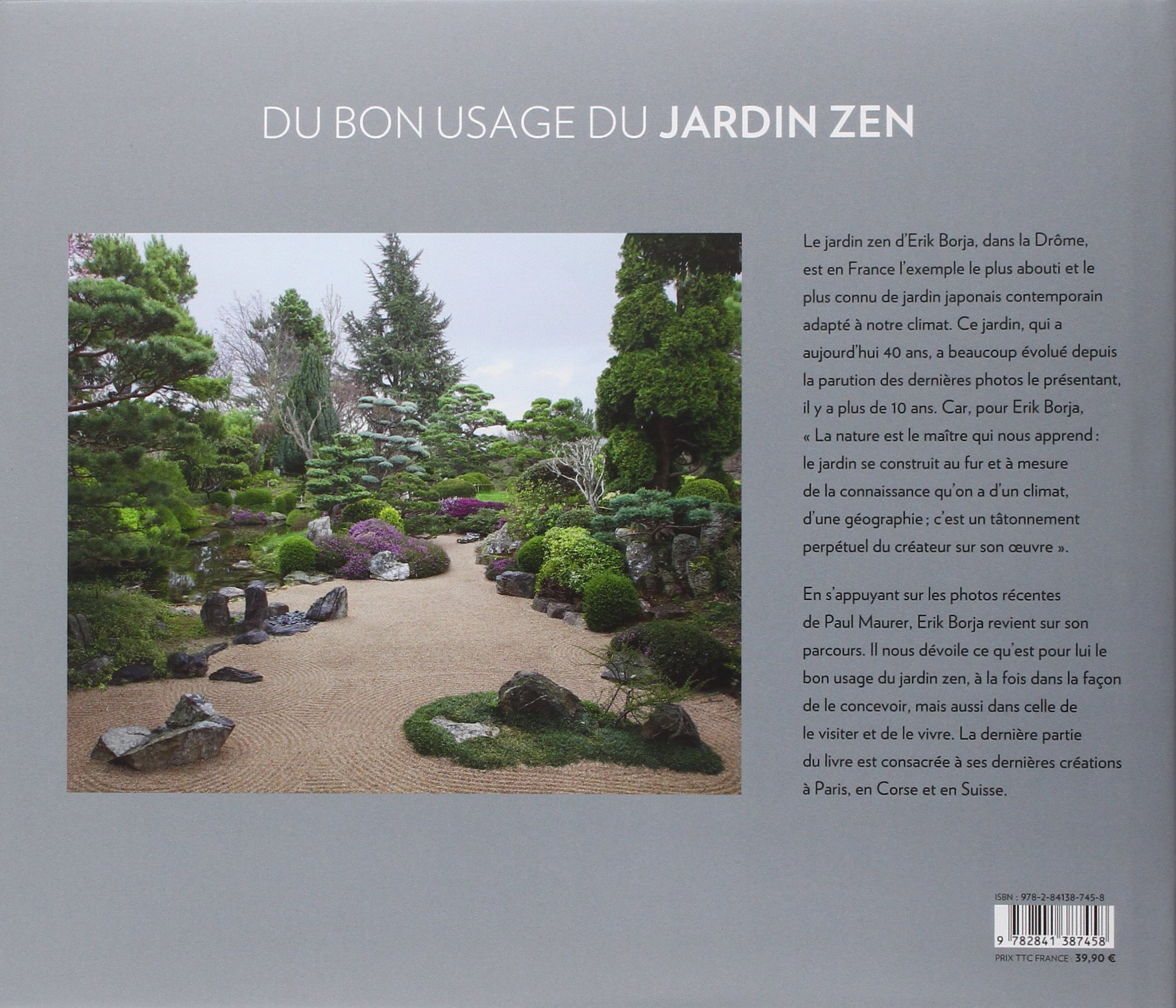 Du bon usage du jardin zen: Amazon.es: Borja, Erik, Maurer, Paul: Libros en idiomas extranjeros