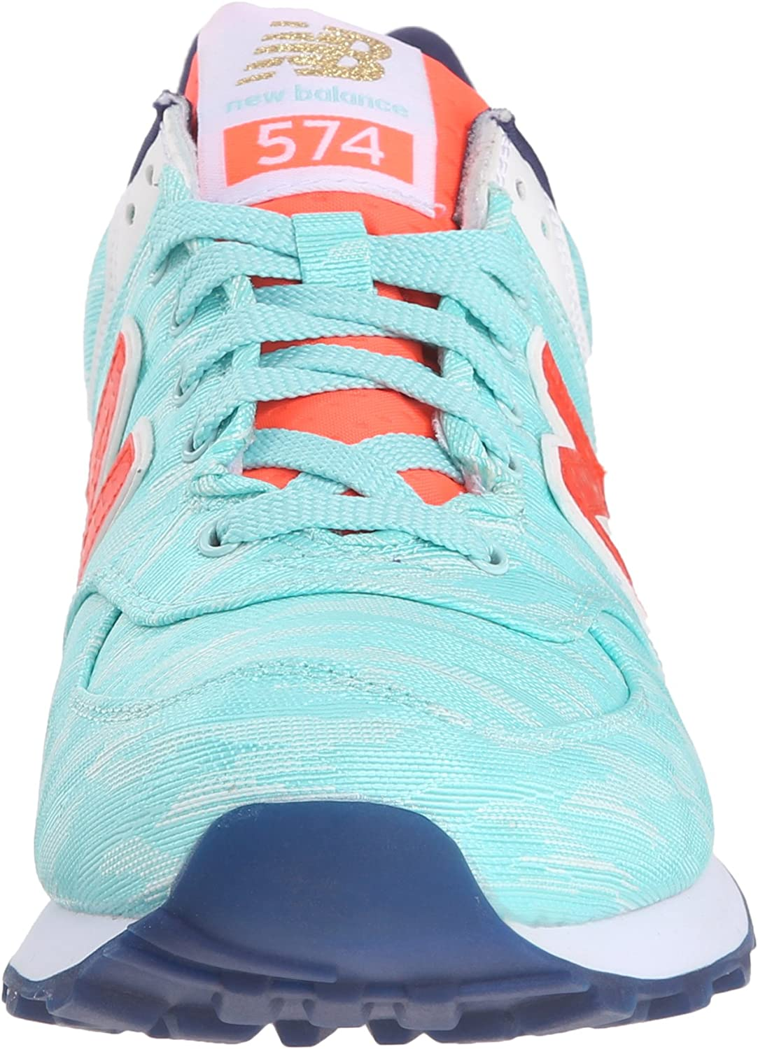 New Balance Women s WL574 Summer Waves Running Shoe