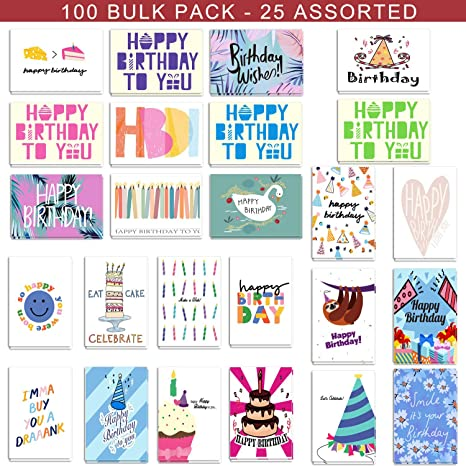 Amazon.com: Juego de tarjetas de cumpleaños para mujeres ...