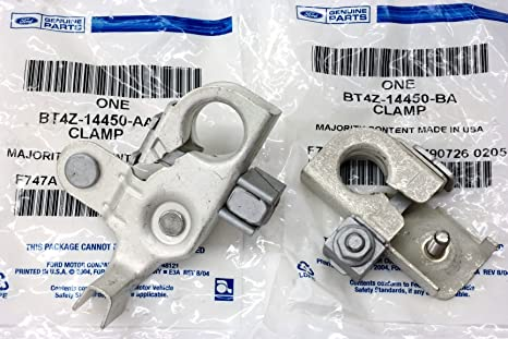 Ford Edge Mkx Positive Negative Battery Terminal Clamp Set Oem