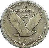 1919 -1930 U.S. Standing Liberty Silver Quarter
