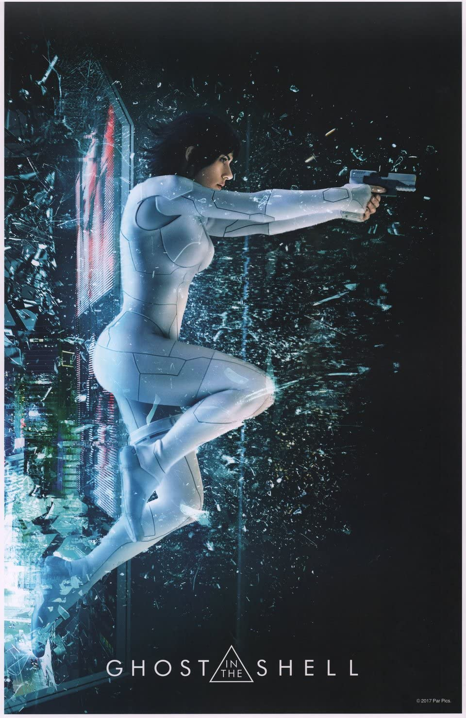 Ghost In The Shell 2017 U S Mini Poster At Amazon S Entertainment Collectibles Store