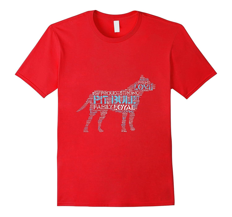 A Pit Bull Defined T-Shirt - Pitbull Rescue - Pitbull Pride-Art