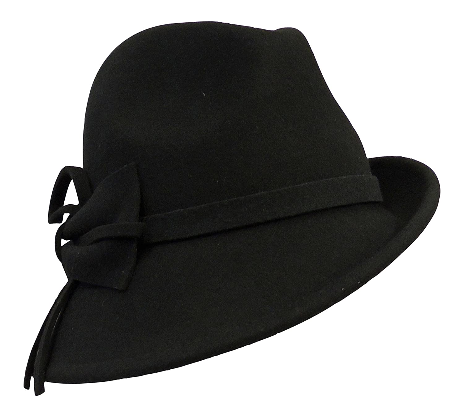 Retro Vintage 1920 s 1930 s 1940 s style Felt Fedora Cloche Gatsby Trilby  Hat  Boutique Brand  Amazon.co.uk  Clothing 0b4b8f22fb7