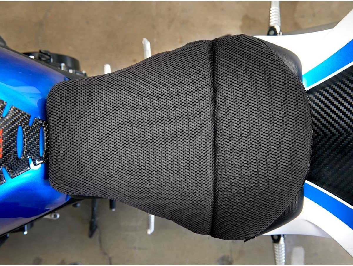 "CONFORMAX ""TOPPER EXCEL"" ULTRA-FLEX Motorcycle Gel Seat Cushion- AIRMAX Small (15x12x6)"